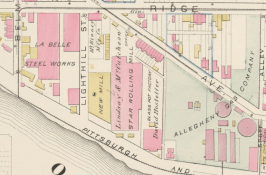 Section of Hopkins Map