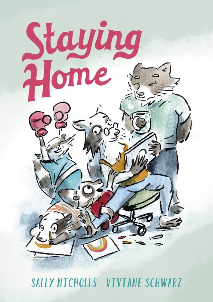 Cover of the book, Staying Home