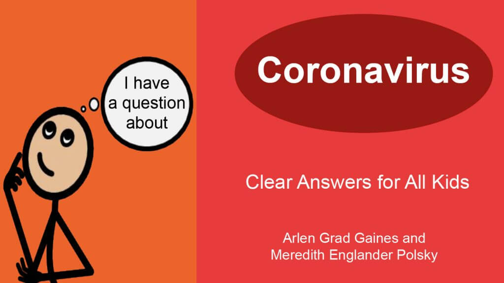 Cover of the book, I Have a Question About Coronavirus
