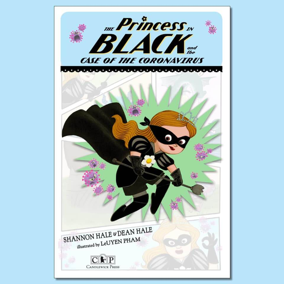 Cover of the book, Princess in Black and the Case of the Coronavirus