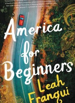 "Cover art for ""America for Beginners"" by Leah Franqui."
