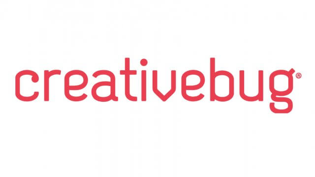 creativebug text logo