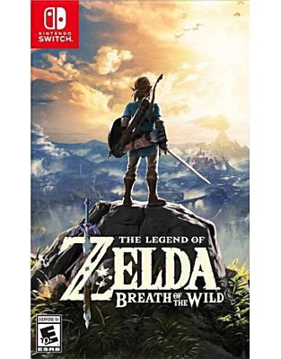 Cover for Legend of Zelda Breath of the Wild