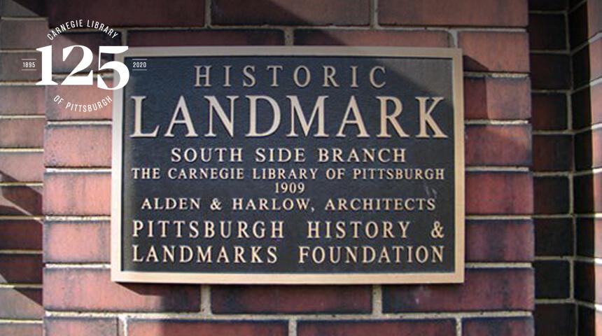 photo of Historic Landmark plaque