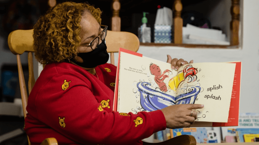 """Gwendolyn Craven of Gwennypooh's Daycare shares """"Puppy Truck"""" by Brian J. Pinkney, a Pittsburgh Ready giveaway book"""